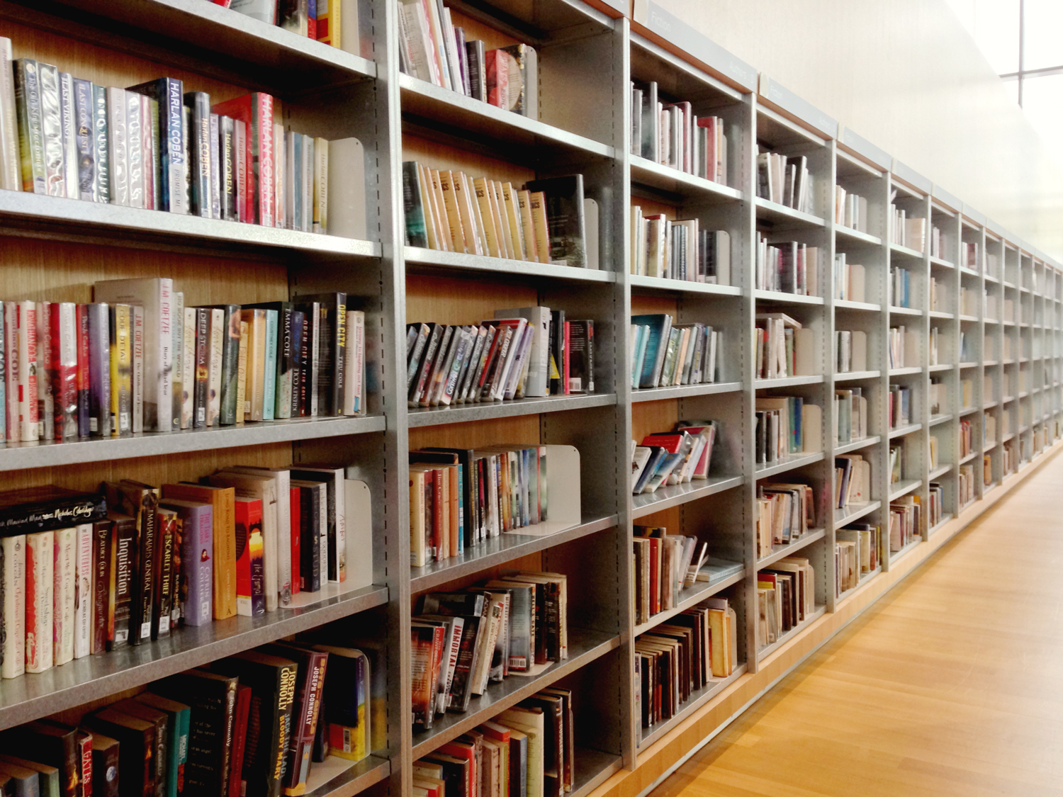 how to search books in the library