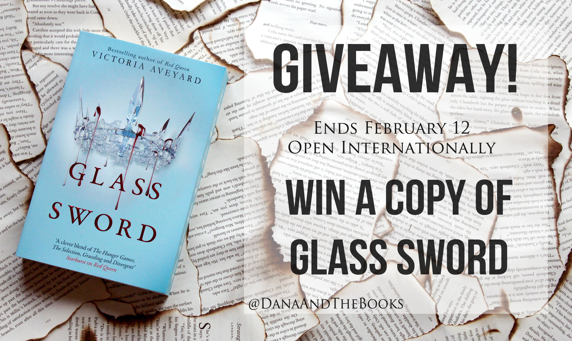Glass Sword Giveaway